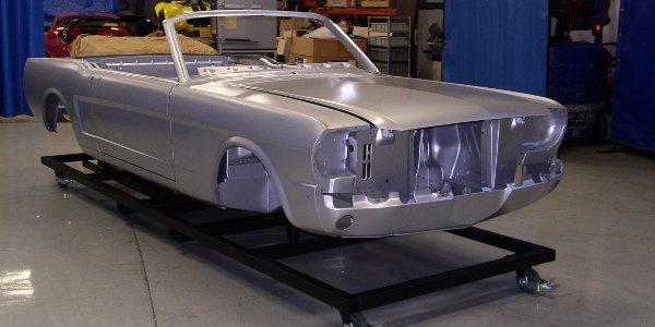 Restauration Ford Mustang cabriolet