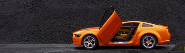 Giugiaro revisite le mythe Mustang