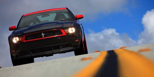 Laguna Seca en Mustang Boss 302