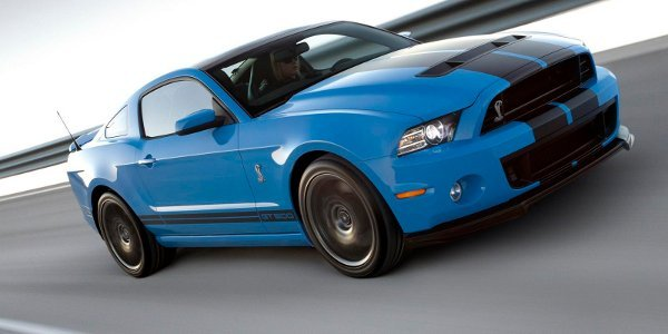 Ford Shelby GT500 2012, impressionnante!