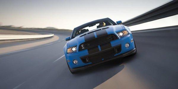 Shelby GT500 : plus de puissance en 2013
