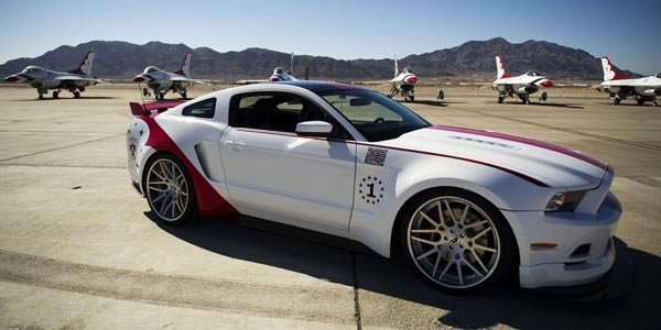 299 500 € pour la Ford Mustang USAF