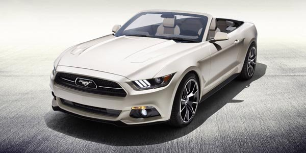 Une Ford Mustang cabriolet unique à gagner