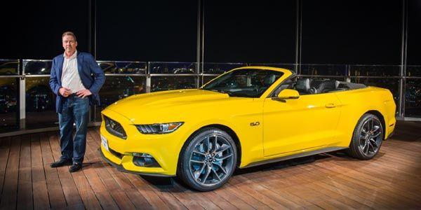 La Ford Mustang sur la plus haute tour du monde