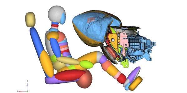 Des airbags de genoux innovants pour la nouvelle Ford Mustang
