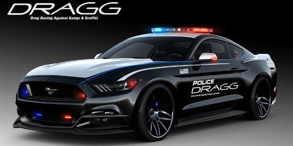 Huit Ford Mustang au SEMA Show de Las Vegas