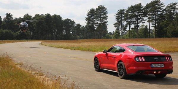 Ford Mustang GT : idéale pour les cascades selon The Stig