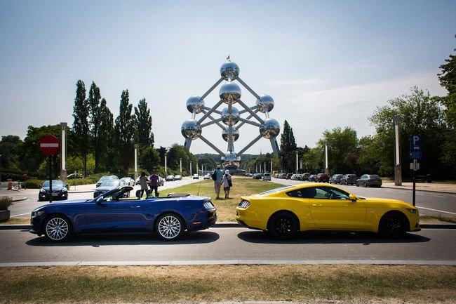 La Ford Mustang a séduit les Européens
