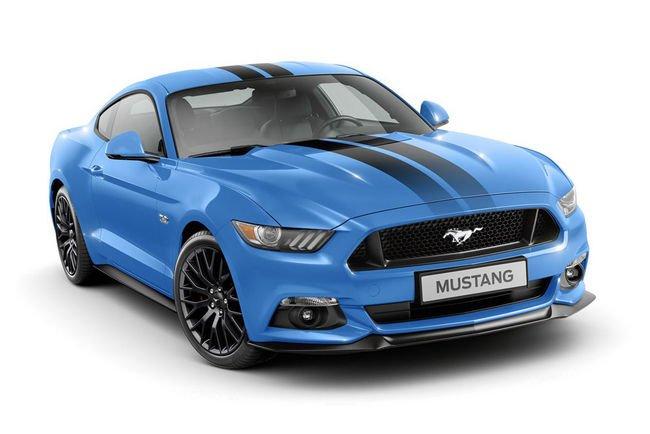 Deux séries spéciales pour la Ford Mustang