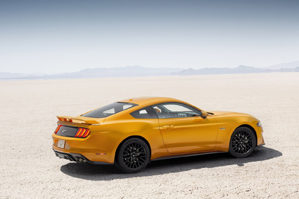 La Ford Mustang passe au restylage