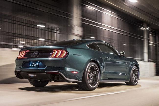 La première Mustang Bullitt 2018 proposée aux enchères