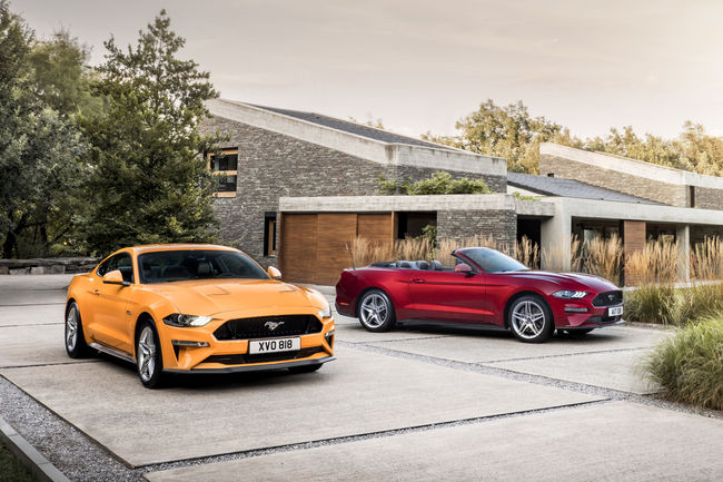 Nouvelle Ford Mustang : à partir de 39 900 euros