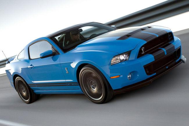 Un teaser pour la future Ford Mustang Shelby GT500