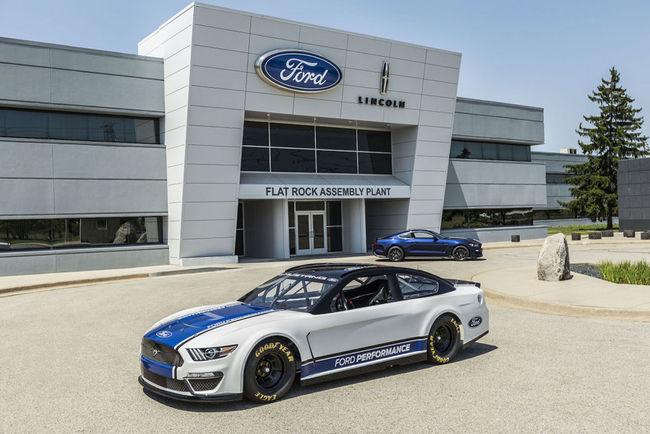 La Ford Mustang intégrera la NASCAR Cup en 2019