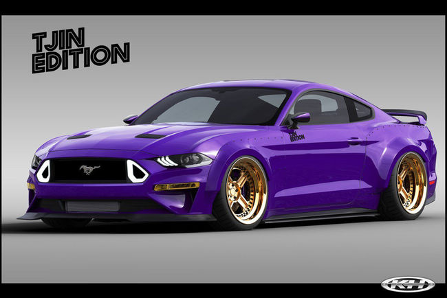 SEMA : cinq Ford Mustang au programme