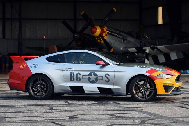 """La Mustang GT """"Old Crow"""" aux enchères"""