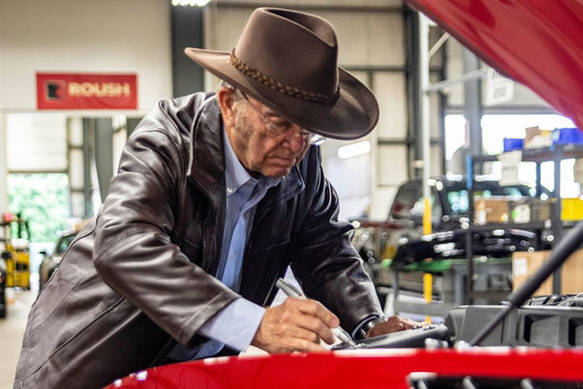 SEMA : Ford Mustang Jack Roush Edition