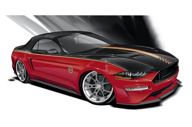 SEMA : deux Mustang spéciales chez Ford