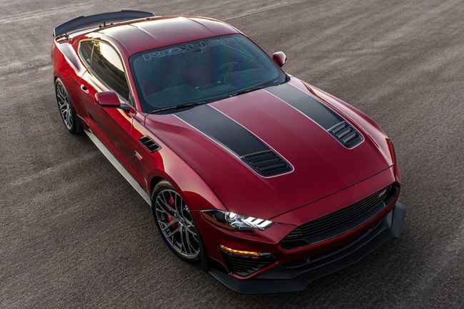 SEMA : Ford Mustang Jack Roush Edition