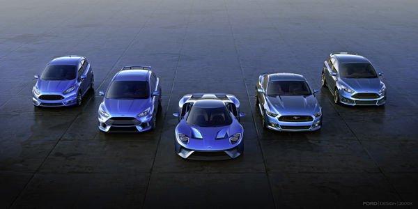 Ford : davantage de modèles sportifs pour l'Europe