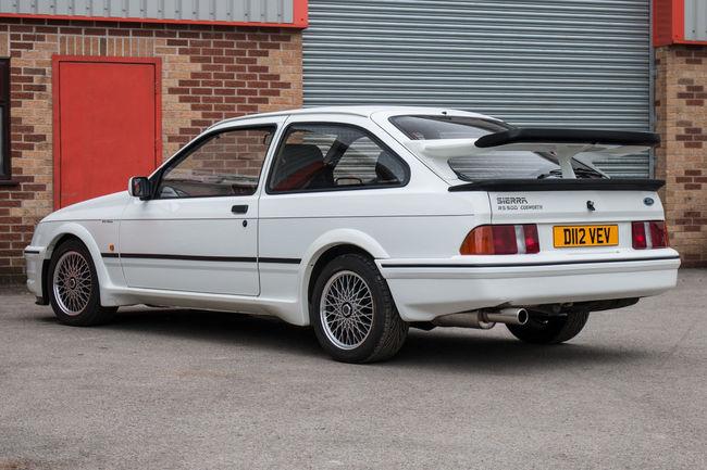 La première Ford Sierra Cosworth RS500 aux enchères