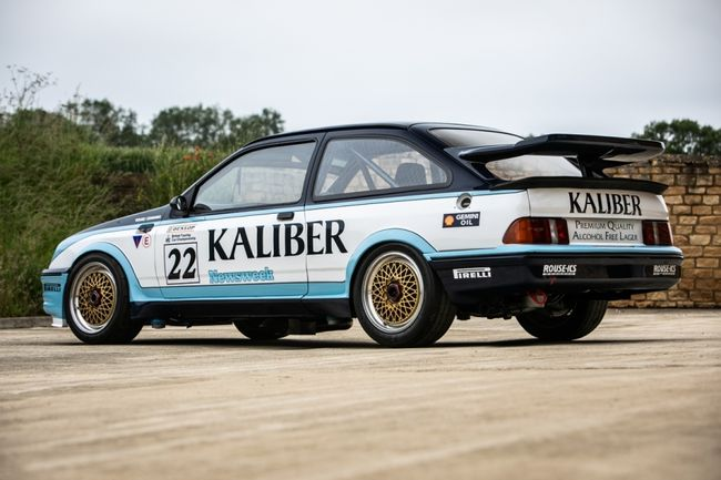 Silverstone Auctions : Ford Sierra RS500 Groupe A 1988