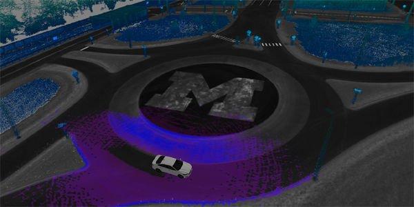 Ford teste ses véhicules autonomes à MCity