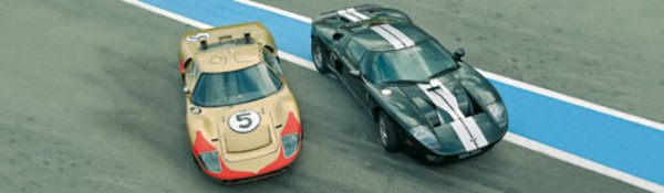 A lire : Ford GT, Hier et aujourd'hui
