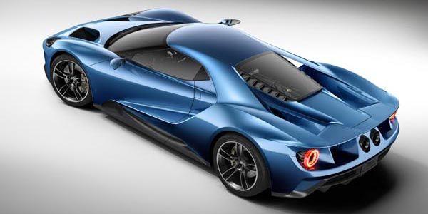 Premier aperçu de la future Ford GT LM ?