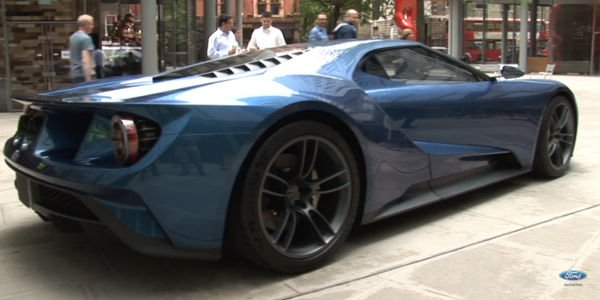 La Ford GT incognito à Londres