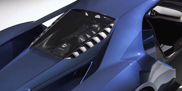 Un vitrage innovant pour la nouvelle Ford GT
