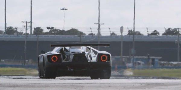 Nouvelles images de la Ford GT LM en action en 2015