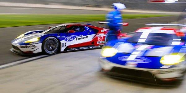 Les Ford GT dans le coup à Daytona