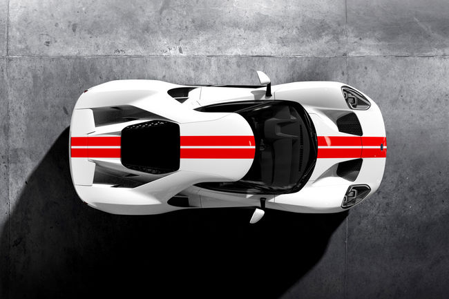 Ford GT : le processus de commande ouvert