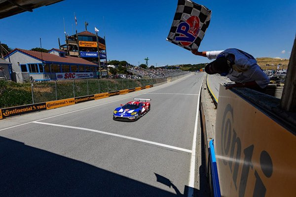 Ford GT : première victoire en course