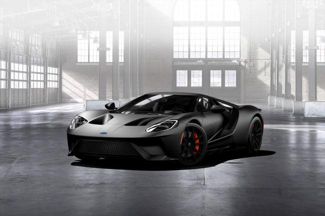 Des jantes en carbone inédites pour la Ford GT