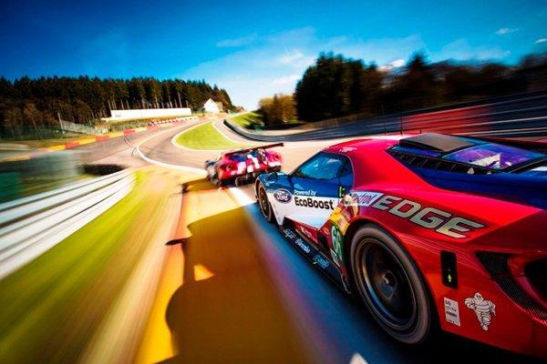Le Mans : l'entrainement des pilotes Ford