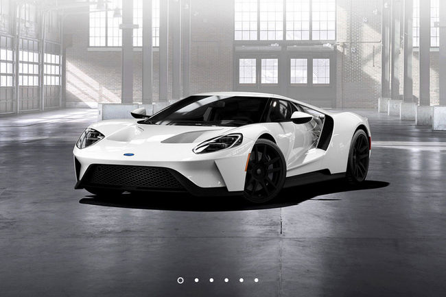Ford GT : personnalisation optimale