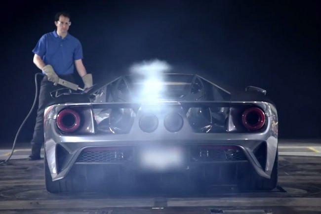 Les essais en soufflerie de la Ford GT