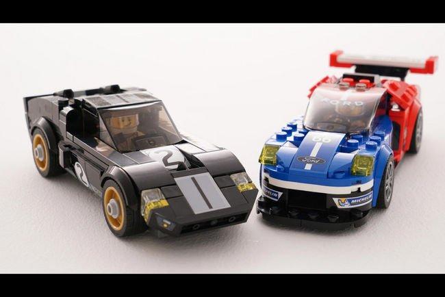 Les Ford GT du Mans arrivent en Lego