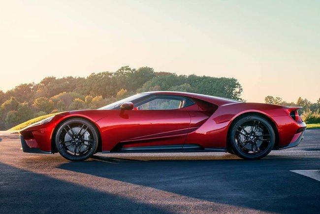 Des nouvelles de la Ford GT 2017