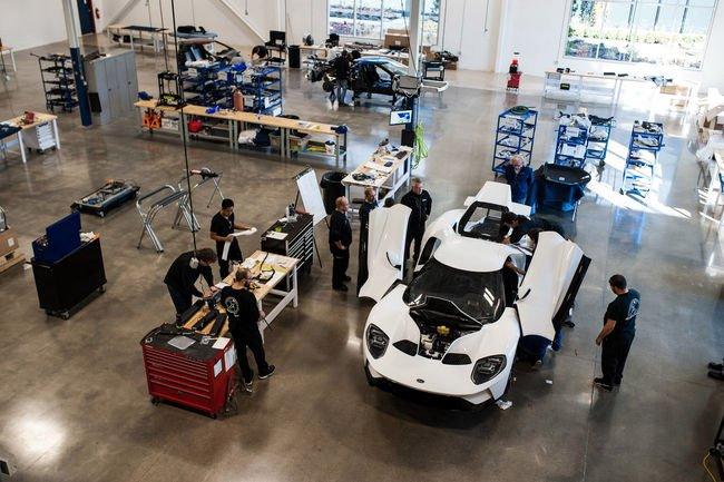 Production lancée pour la nouvelle Ford GT