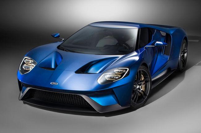 Ford offre un coffret pour personnaliser la Ford GT