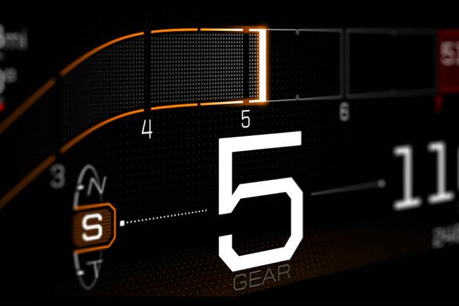 Ford GT : le tableau de bord numérique