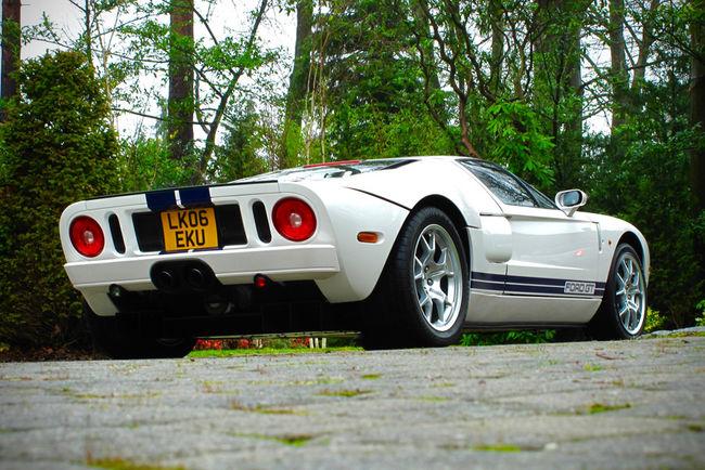 Une Ford GT ex-Jenson Button aux enchères