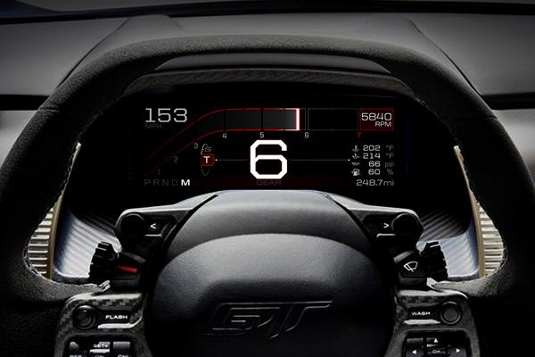 Ford GT : les modes de conduite détaillés