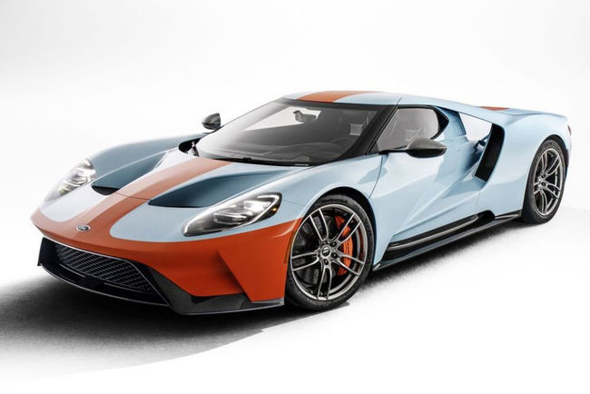 Nouvelle Ford GT Heritage Edition Gulf
