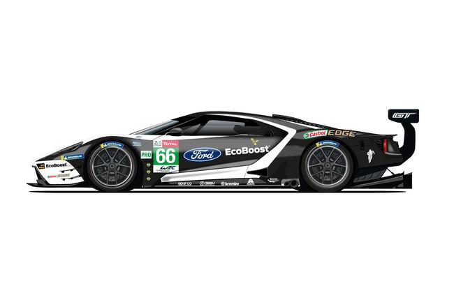 Livrées spéciales pour les Ford GT au Mans