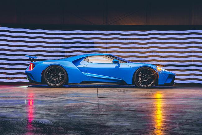 Une Ford GT de 2017 aux enchères RM Sotheby's