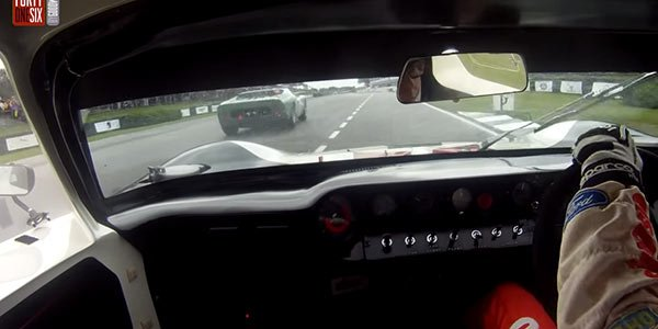 Leçon de pilotage en GT40 à Goodwood